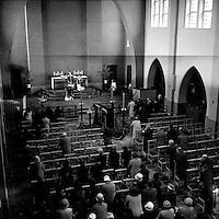 Begrafenis in de jaren '60