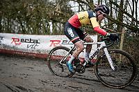 Belgian National CX Champion Sanne Cant (BEL/Iko-Crelan)<br /> <br /> 2021 Flandriencross Hamme (BEL)<br /> women's race<br /> <br /> ©kramon