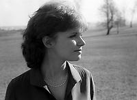 FILE PHOTO -  Diane Tell en 1978<br /> <br /> <br /> PHOTO :  Andre Boucher - Agence quebec Presse<br /> <br /> HI RES Sur demande - aucune restriction