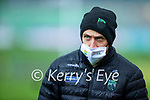 Kerry Trainer John Barry during the Round 1 meeting of Kerry and Meath in the Joe McDonagh Cup at Austin Stack Park in Tralee on Sunday.