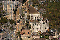 Europe/France/Midi-Pyrénées/46/Lot/Causse de Rocamadour/Rocamadour: Le sanctuaire
