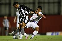 26th August 2020; Estadio Vila Capanema, Curitiba, Brazil; Copa Do Brasil, Parana Clube versus Botafogo; Jhony Douglas of Parana Clube challenges Guilherme Santos of Botafogo