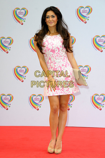 LONDON, ENGLAND - JUNE 02: Casey Bachelor attends the Health Lottery Tea Party at The Savoy Hotel on June 2, 2014 in London, England.<br /> CAP/CJ<br /> ©Chris Joseph/Capital Pictures
