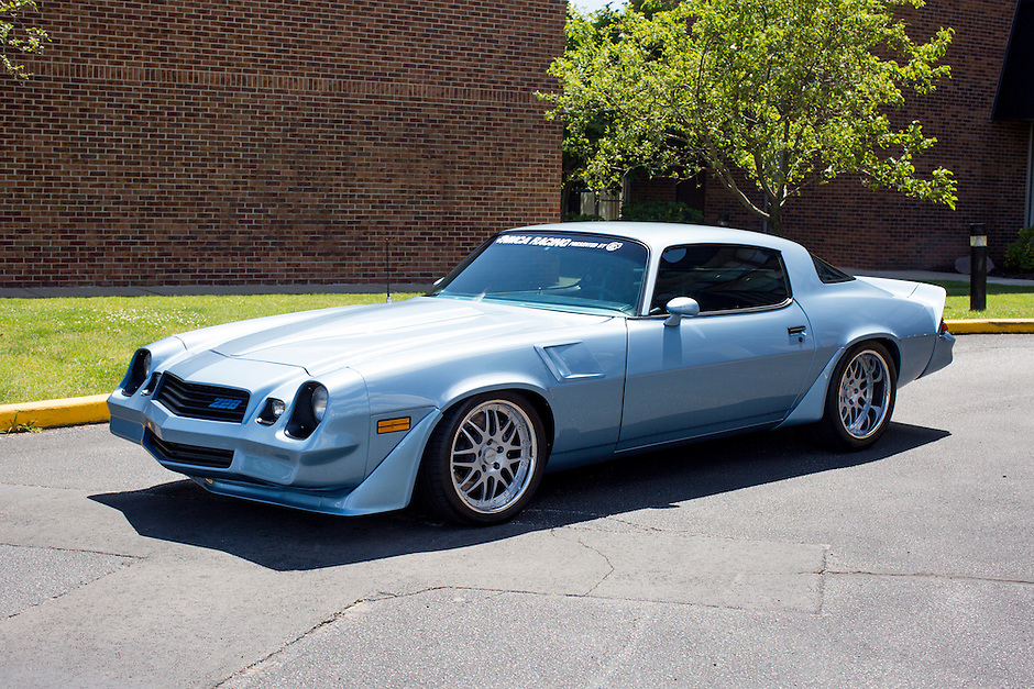 1981 Custom Camaro 1974-1981 Junior (#138) – 1981 Chevrolet Camaro Z-28 registered to Scott Brown is pictured during 4th State Representative Chevy Show on Friday, July 1, 2016, in Fort Wayne, Indiana. (Photo by James Brosher)