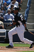 Robinson Cano of the New York Yankees vs the Pittsburgh Pirates March 18th, 2007 at Legends Field in Tampa, FL during Spring Training action.  Photo By Mike Janes/Four Seam Images