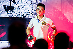 Bantamweight World Championship MA Haobin of China getting into the ring for his combat against Chan Rothana of Cambodia during the One Championship - Heroes of the World on August 13, 2016 in Macau, China. Photo by Marcio Machado / Power Sport Images