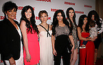 The Kardashian and Jenner Clan at REDBOOK's first-ever family issue celebration featuring the Kardashians held at The Sunset Tower Hotel in West Hollywood, California on April 11,2011                                                                               © 2010 Hollywood Press Agency