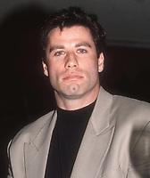 John Travolta 1989<br /> Photo By John BarrettPHOTOlink.net