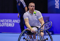 Rotterdam, Netherlands, December 12, 2017, Topsportcentrum, Ned. Loterij NK Tennis, Wheelchair, Maikel Scheffers (NED)<br /> Photo: Tennisimages/Henk Koster