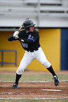 March 22nd 2009:  Left Fielder Matt Wietlispach (20) of the Niagara University Purple Eagles during a game at Sal Maglie Stadium in Niagara Falls, NY.  Photo by:  Mike Janes/Four Seam Images