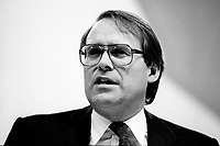 Montreal (Qc) CANADA - 1987 File Photo - - New Democratic Party (NDP) Convention  - Ken Dryden