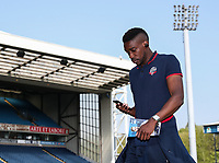 Bolton Wanderers' Sammy Ameobi pictured before the match<br /> <br /> Photographer Andrew Kearns/CameraSport<br /> <br /> The EFL Sky Bet Championship - Blackburn Rovers v Bolton Wanderers - Monday 22nd April 2019 - Ewood Park - Blackburn<br /> <br /> World Copyright © 2019 CameraSport. All rights reserved. 43 Linden Ave. Countesthorpe. Leicester. England. LE8 5PG - Tel: +44 (0) 116 277 4147 - admin@camerasport.com - www.camerasport.com
