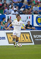 August 03 2010 Inter Milan FC defender Javier Zanetti No. 4 in action during an international friendly between Inter Milan FC and Panathinaikos FC at the Rogers Centre in Toronto..Final score was 3-2 for Panathinaikos FC.