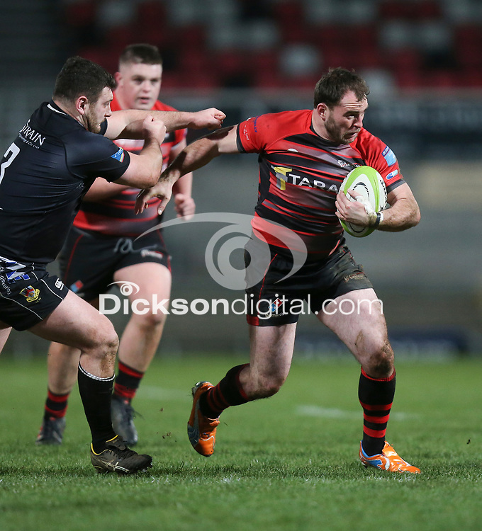 Friday 8th February 2019 | First Trust Ulster Senior Cup Final<br /> <br /> Andrew Willis during the First Trust Ulster Senior Cup Final between Armagh and Ballymena at Kingspan Stadium, Ravenhill Park, Belfast, Northern Ireland. Photo by John Dickson / DICKSONDIGITAL