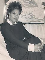 1988 FILE PHOTO - ARCHIVES -<br /> <br /> Oprah Winfrey<br /> <br /> 1988<br /> <br /> PHOTO :  Erin Comb - Toronto Star Archives - AQP