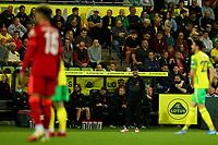 21st September 2021; Carrow Road, Norwich, England; EFL Cup Footballl Norwich City versus Liverpool; Liverpool Manager Jurgen Klopp