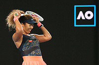 Naomi Osaka, JPN, after winning 2021 Australian Open final in Melbourne, 20/02/2021 - *** Naomi Osaka, JPN, after winning 2021 Australian Open final in Melbourne, 20 02 2021  <br /> Photo Schreyer/Imago/Insidefoto ITALY ONLY
