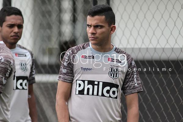 Campinas (SP), 06/01/2020 - Ponte Preta / Futebol - Bruno Rodrigues. A equipe da Ponte Preta realizou treino nesta segunda-feira (6), no CT do Jd Eulina, na cidade de Campinas (SP).