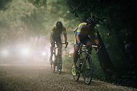 Louis Verhelst (BEL/Tarteletto-Isorex)<br /> <br /> 3rd Dwars Door Het hageland 2018 (BEL)<br /> 1 day race:  Aarschot > Diest: 198km