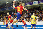 Spain's Victor Tomas during 2018 Men's European Championship Qualification 2 match. November 2,2016. (ALTERPHOTOS/Acero)