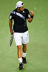 SHANGHAI, CHINA - OCTOBER 14:  Jurgen Melzer of Austria celebrates a point on his match against Juan Martin del Potro of Argentina during day four of 2009 Shanghai ATP Masters 1000 at the Qi Zhong Tennis Centre in Shanghai. Photo by Victor Fraile / The Power of Sport Images