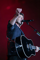 Patrick Bruel performs at the Festival d'ete de Quebec (Quebec City Summer Festival) Tuesday July 14, 2015.