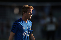 San Jose, CA - Monday July 10, 2017: Jackson Yueill prior to a U.S. Open Cup quarterfinal match between the San Jose Earthquakes and the Los Angeles Galaxy at Avaya Stadium.