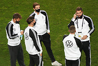 Luca Waldschmidt (Deutschland Germany), Florian Neuhaus (Deutschland Germany), Jonas Hofmann (Deutschland Germany), Robin Gosens (Deutschland Germany), Torwart Kevin Trapp (Deutschland Germany)<br /> - 07.10.2020: Deutschland vs. Tuerkei, Freundschaftsspiel, RheinEnergie Stadion Koeln<br /> DISCLAIMER: DFB regulations prohibit any use of photographs as image sequences and/or quasi-video.