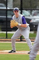 Minnesota State Mavericks Matt Odegaard #24 during a game vs. the Ashland Eagles at Lake Myrtle Main Field in Auburndale, Florida;  March 5, 2011.  Minnesota State defeated Ashland 4-3 in the second game of a double header.  Photo By Mike Janes/Four Seam Images