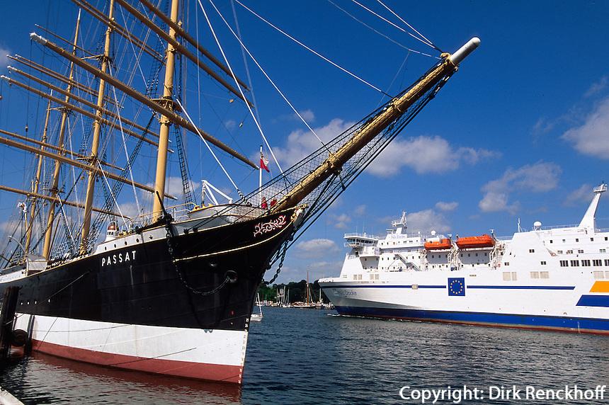 Deutschland. Segelschiff Passat in Travemünde-Priwall