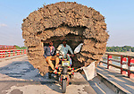 Hundreds of kg of jute sticks transported
