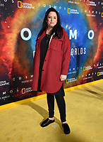 "LOS ANGELES - FEBRUARY 26: Co-executive producer Kara Vallow attends National Geographic's 2020 Los Angeles premiere of ""Cosmos: Possible Worlds"" at Royce Hall on February 26, 2020 in Los Angeles, California. Cosmos: Possible Worlds premieres Monday, March 9 at 8/7c on National Geographic. (Photo by Frank Micelotta/National Geographic/PictureGroup)"