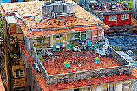 rooftops and buildings