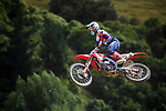 James Scott competes in MX2 race one. 2021 New Zealand Motocross Grand Prix at Old Gorge Road in Woodville , New Zealand on Sunday, 31  January 2021. Photo: Dave Lintott / lintottphoto.co.nz