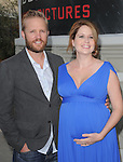 """Jenna Fischer and Lee Kirk attends the L.A. Premiere of """"A Little Help"""" held at Sony Pictures Studios in Culver City ,California on July 14,2011                                                                               © 2011 DVS / Hollywood Press Agency"""