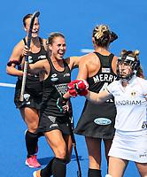 Rose Keddell during the Pro League Hockey match between the Blacksticks Women and Belgium, National Hockey Arena, Auckland, New Zealand, Sunday 2 February 2020. Photo: Simon Watts/www.bwmedia.co.nz