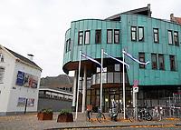 Nederland  Zutphen -  2020.   Het nieuwe stadhuis van Zutphen. Het gebouw is een ontwerp van Thomas Rau.   Foto : ANP/ HH / Berlinda van Dam