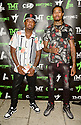 MIAMI, FLORIDA - JUNE 03: James McNair and Spazz attends The Money Team Fight Weekend Kickoff at Victory Restaurant and Lounge on June 03, 2021 in Miami, Florida. ( Photo by Johnny Louis / jlnphotography.com )