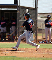 Petey Halpin - Cleveland Indians 2021 extended spring training (Bill Mitchell)