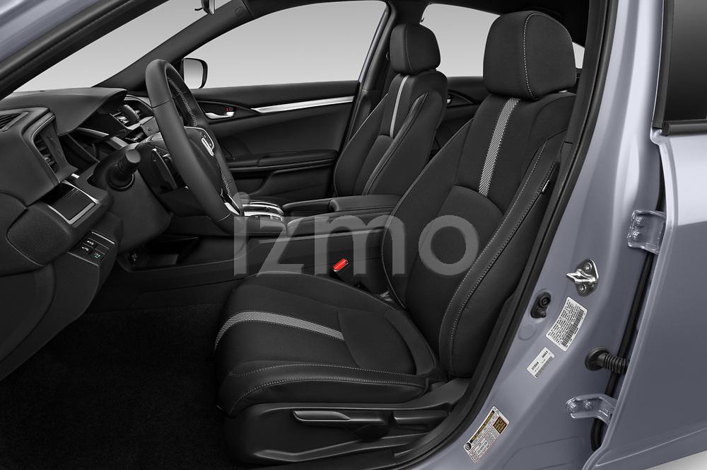 Front seat view of 2020 Honda Civic-Sedan Sport 4 Door Sedan Front Seat  car photos