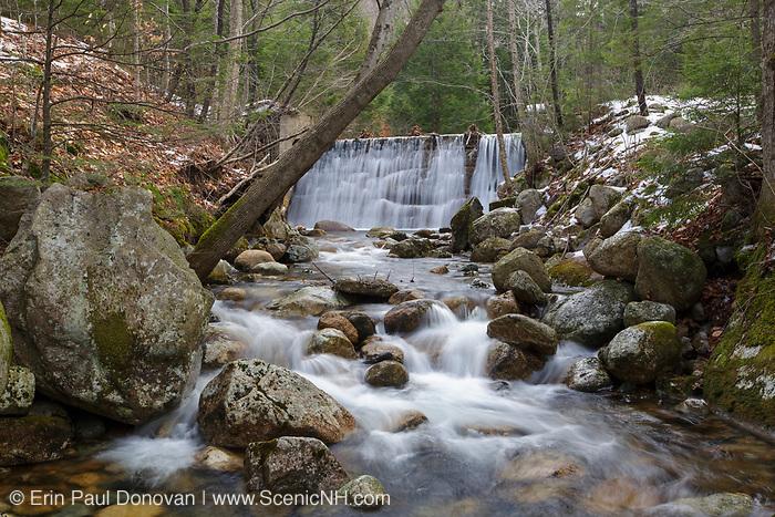Boyce Brook Reservoir on Boyce Brook in Lincoln, New Hampshire.