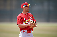 St. Louis Cardinals Danny Hudzina (19) during a Minor League Spring Training game against the Houston Astros on March 27, 2018 at the Roger Dean Stadium Complex in Jupiter, Florida.  (Mike Janes/Four Seam Images)