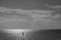 """Alone<br /> From """"Miami in Black and White"""" series. Miami, 2009"""