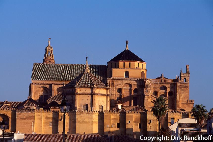 Spanien, Andalusien, Kathedrale Mezquita  in Cordoba, im 16.17. Jh. wurde die Kathedrale in die Moschee La Mezquita aus dem 8. Jh. gebaut, UNESCO-Weltkulturerbe
