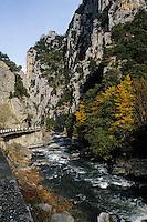 Europe/France/Languedoc-Roussillon/11/Aude: Les gorges de l'Aude