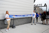 Yingli Solar. The men's national team of the United States (USA) was defeated by Ecuador (ECU) 1-0 during an international friendly at Red Bull Arena in Harrison, NJ, on October 11, 2011.