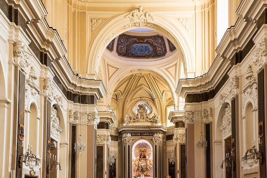 The sanctuary of the Madonna del Carmine, Sorrento, Italy