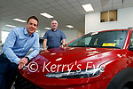Liam Shannon and Noel O'Connor, Sales executives at Adams garage, Tralee.