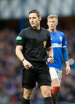 Rangers v St Johnstone…16.02.19…   Ibrox    SPFL<br />Referee Steven McLean<br />Picture by Graeme Hart. <br />Copyright Perthshire Picture Agency<br />Tel: 01738 623350  Mobile: 07990 594431