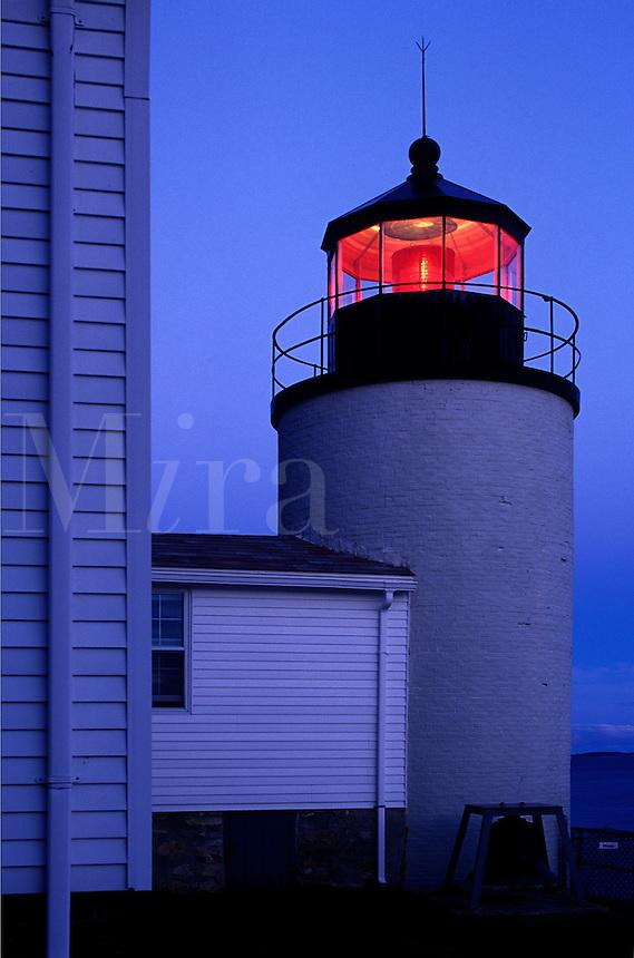 Bass Harbor Lighthouse, Mt Desert Island, Maine<br />